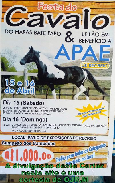 CARTAZ DA FESTA DO CAVALO - RECREIO MG 2017 (402x640)